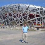 ...at the 2008 Olympic Stadium in Beijing, China!