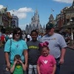 ...at Disney World - Magic Kingdom Castle!