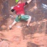 ...bouldering in Moab, Utah!